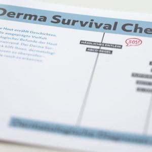 Derma Survival Check – Faltflyer